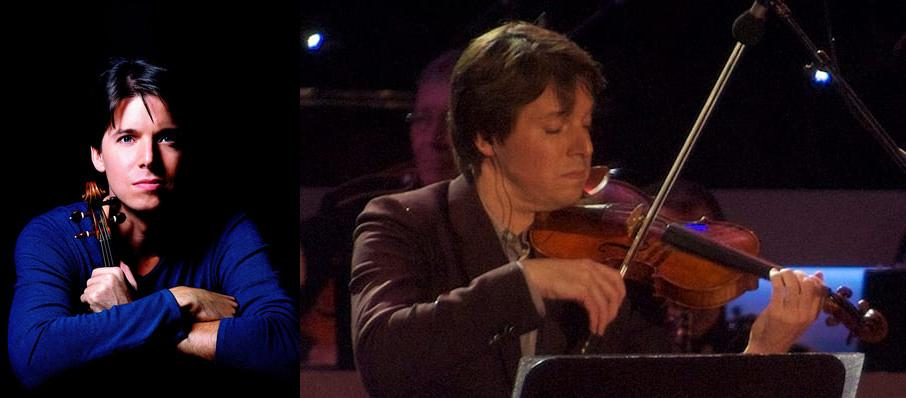 Joshua Bell at Dreyfoos Concert Hall