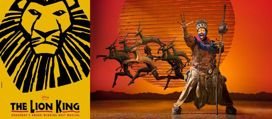 The Lion King at Dreyfoos Concert Hall