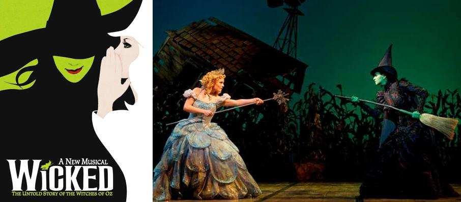 Wicked at Dreyfoos Concert Hall