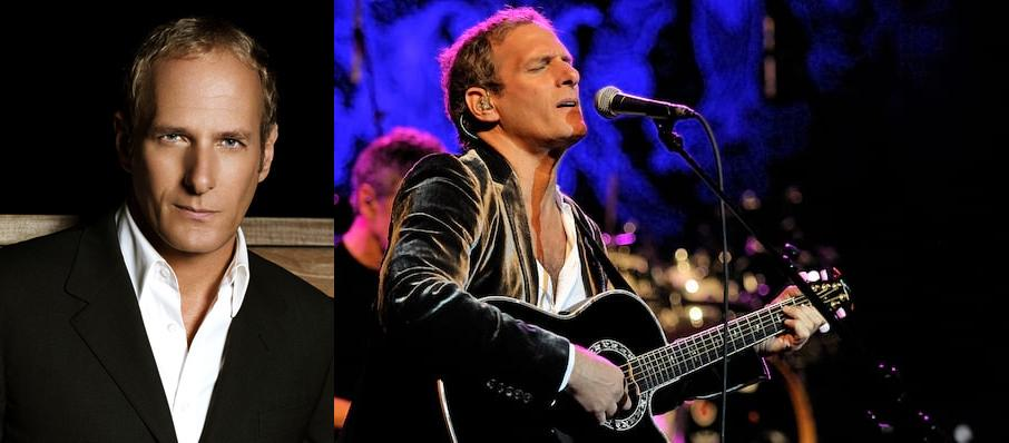 Michael Bolton at Dreyfoos Concert Hall