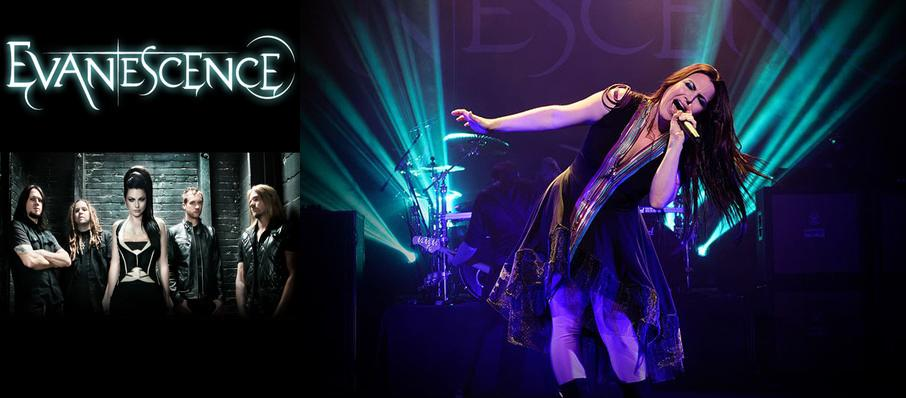 Evanescence at Perfect Vodka Amphitheatre