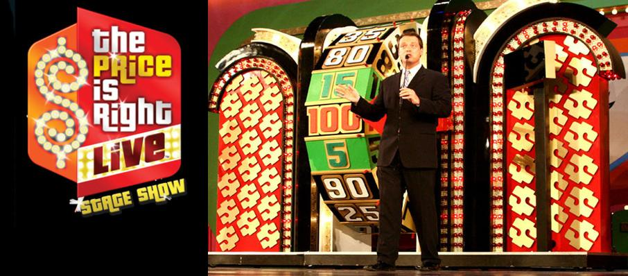 The Price Is Right - Live Stage Show at Dreyfoos Concert Hall