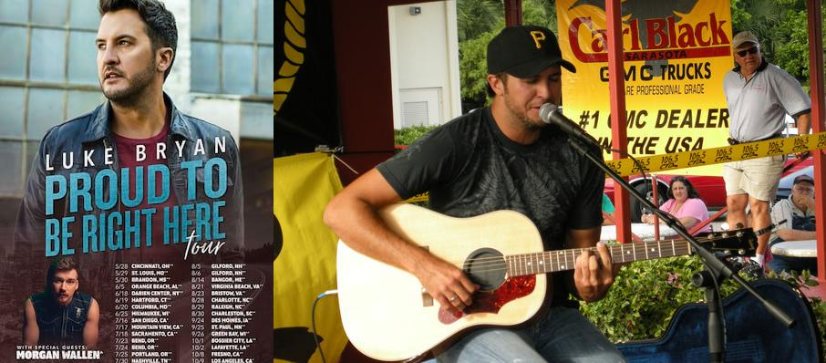 Luke Bryan at Perfect Vodka Amphitheatre
