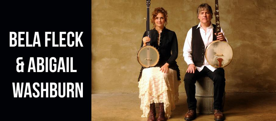 Bela Fleck & Abigail Washburn at Lyric Theatre