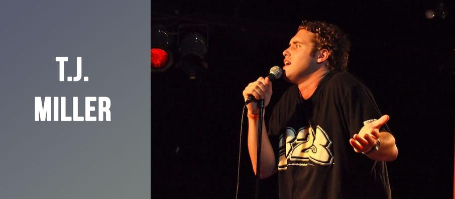 T.J. Miller at Palm Beach Improv