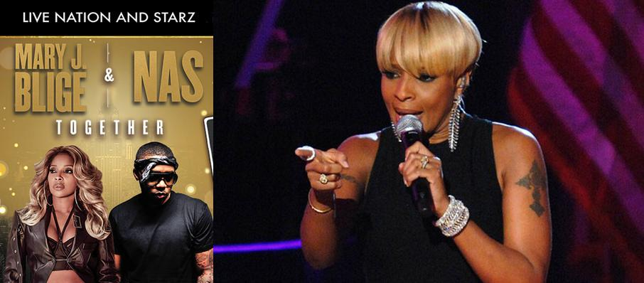 Mary J Blige and Nas at Coral Sky Amphitheatre