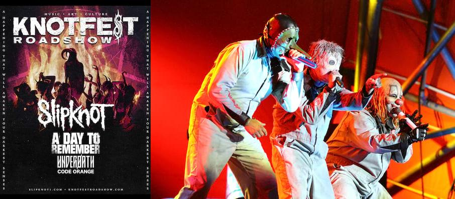 Knotfest - Slipknot, A Day To Remember, Underoath, Code Orange at Coral Sky Amphitheatre