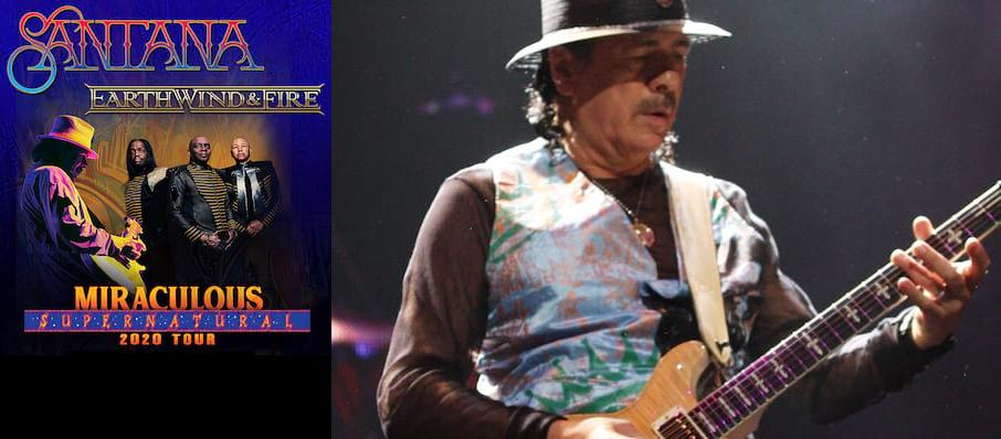 Santana with Earth Wind and Fire at Coral Sky Amphitheatre