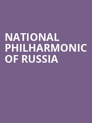 National Philharmonic of Russia at Dreyfoos Concert Hall