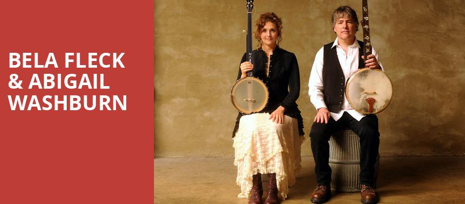 Bela Fleck Abigail Washburn, Lyric Theatre, West Palm Beach