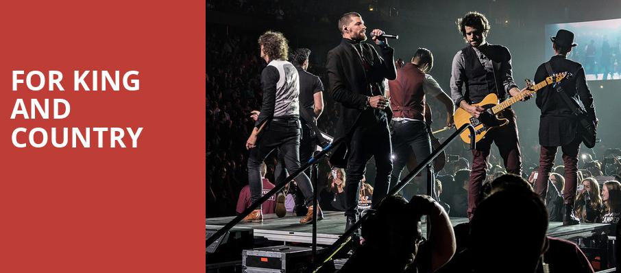 For King And Country, Perfect Vodka Amphitheatre, West Palm Beach